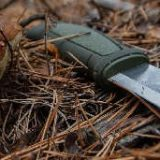 Правка любого ножа в лесу