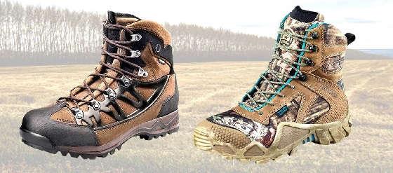 Лучшая обувь для охоты и рыбалки