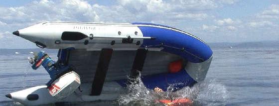 Как перевернуть лодку и выжить