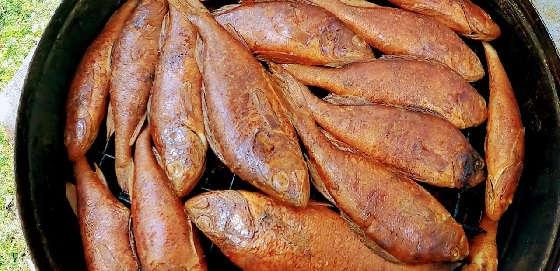 Рыба Горячего Копчения по-деревенски