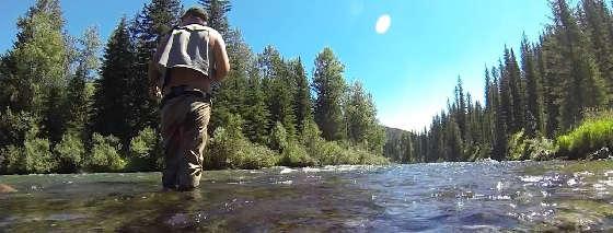 Рыбалка на горной реке: клев хариуса