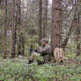 Охота на рябчика в тайге