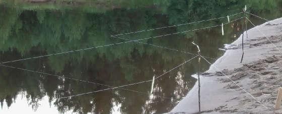Вечерняя рыбалка на донки