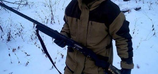 Стрельба без упора с ружья МР-155