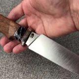 нож Боуи с рукоятью из кости нож Кайман