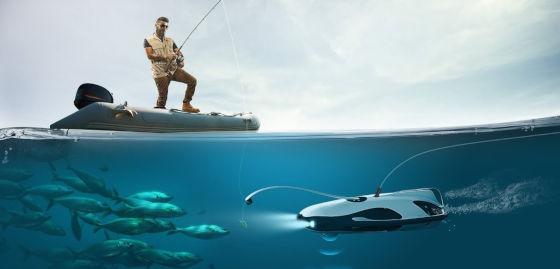 Поиск Рыбы С ПОМОЩЬЮ ПОДВОДНОГО ДРОНА