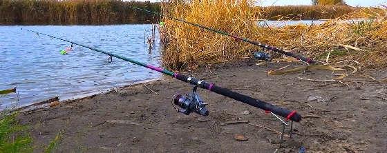 Рыбалка на ФИДЕР поздней осенью