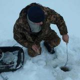Зимняя рыбалка на Рыбинке