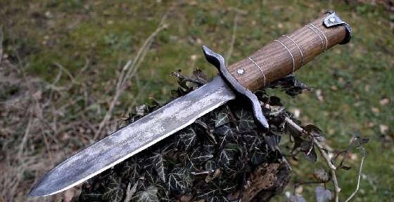 Ковка ножа из сверла