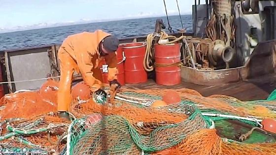 На промысле в Охотском море