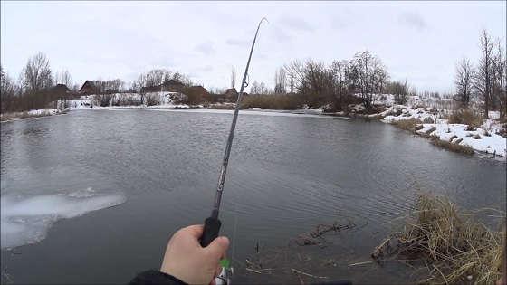 Как поймать щуку зимой на спиннинг с берега?