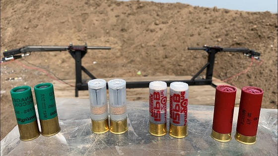 Столкновение пуль из двух ружей