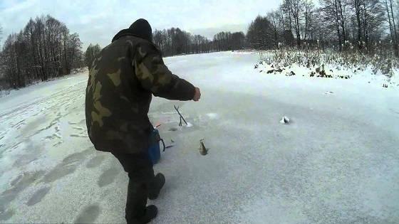 Рыбалка на жерлицы и мирную рыбу зимой