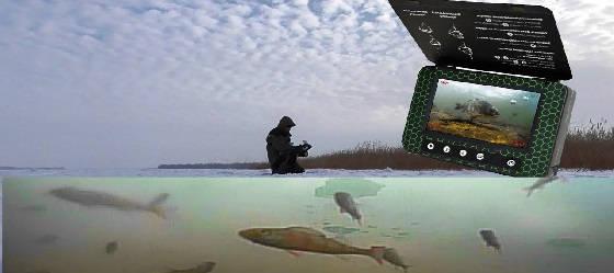 Подводная Камера для Рыбалки Мурена