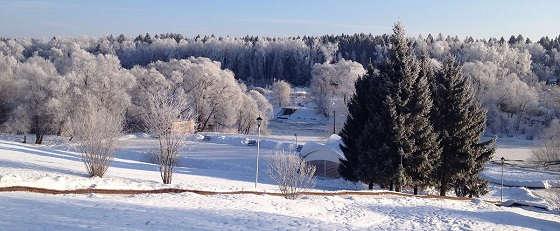 Отдых на природе зимой