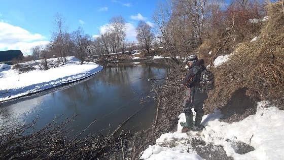 Открытие сезона на малой реке