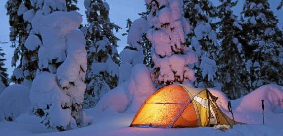Отдых с палатками в НОЯБРЕ