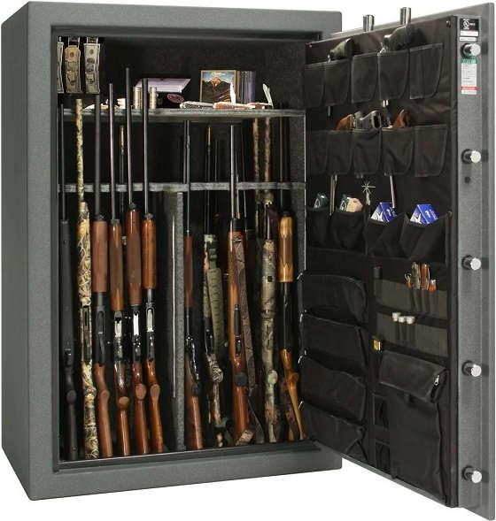 Проверка условий хранения оружия