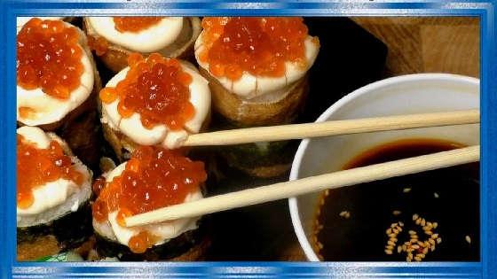 Роллы из консервированной рыбы