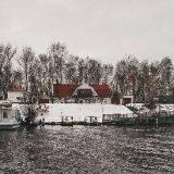 судак с лодки зимой