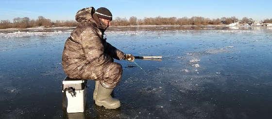 Зимняя Рыбалка на Оке 2020