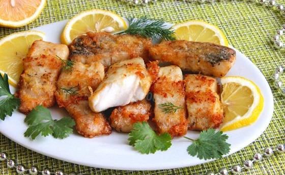 Вкусное блюдо из свежей рыбы