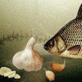 рыбалка на КАРАСЯ: ЧЕСНОК в действии