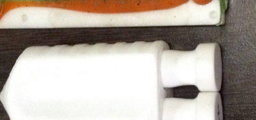 Шприц для литья двухцветных силиконовых приманок