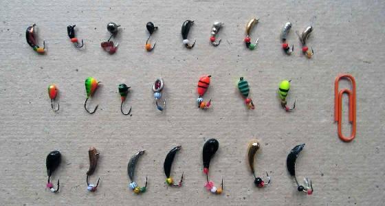Как правильно привязать мормышку для ловли без насадки?