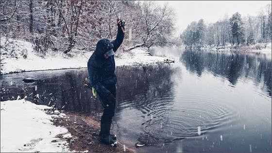 Наноджиг на реке
