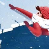 Что делать, если провалился под лед?