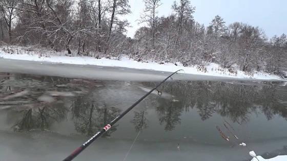 Рыбалка на спиннинг в январе