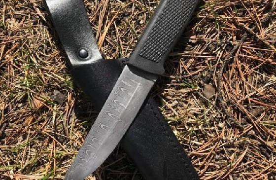 Урман - нож из дамаска
