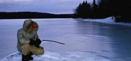 Зимняя рыбалка в одиночку