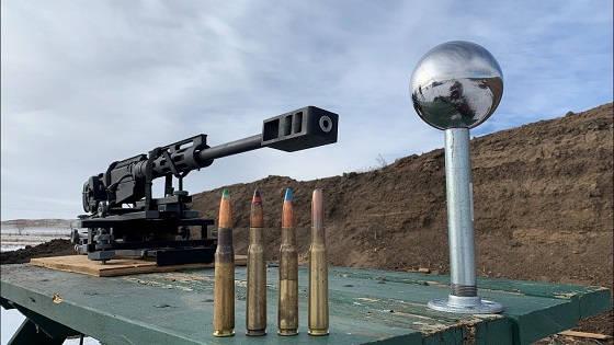 шарик от подшипника против .50 BMG