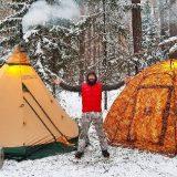 Палатки Берег УП-5 и Tentipi