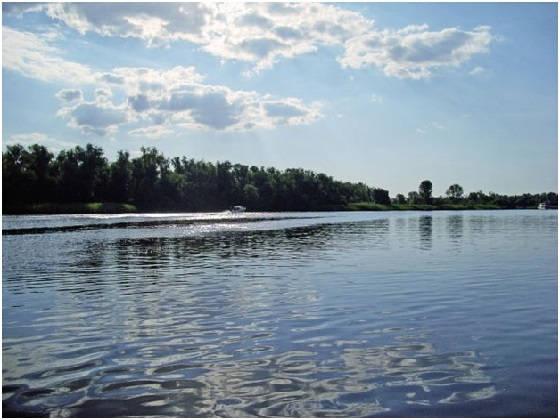дичайшие места реки Днепр