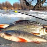 Рыбалка в Феврале на мормышку