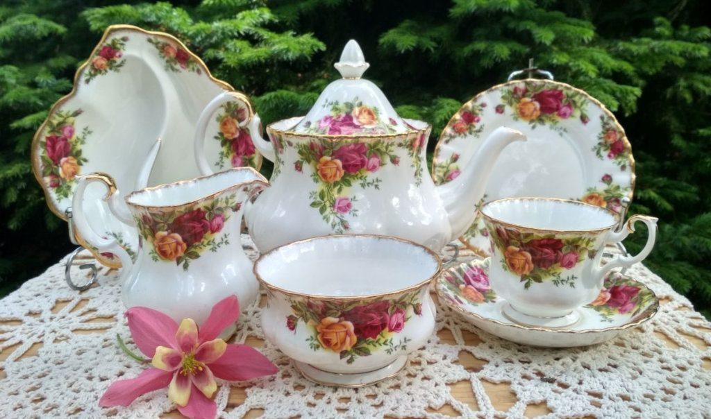 Английская фарфоровая посуда