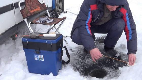 Чем занимается рыба зимой в озере Кучелиново