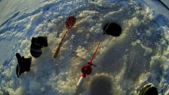 Рыбалка в лютый мороз
