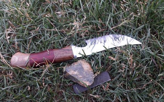Добыть огонь ножом в -25С
