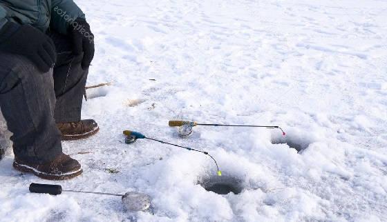 Зимняя рыбалка по плану