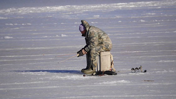 Зимняя рыбалка в феврале 2021