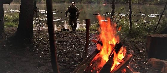 Рыбалка С Ночёвкой в Лесу