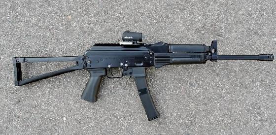 Сайга-9 VS ППШ-41