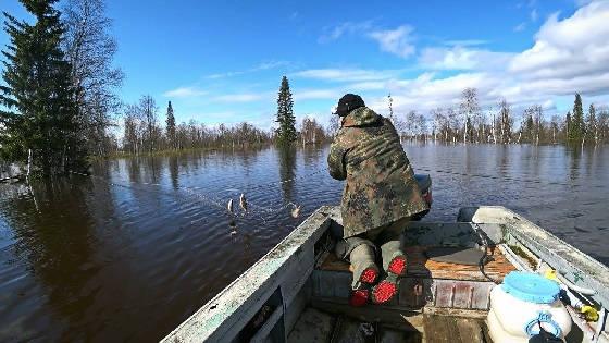 Рыбалка на сети в Республике Коми