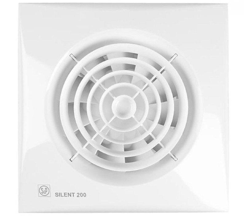 Вентилятор для санузла Soler Palau SILENT-200 CZ