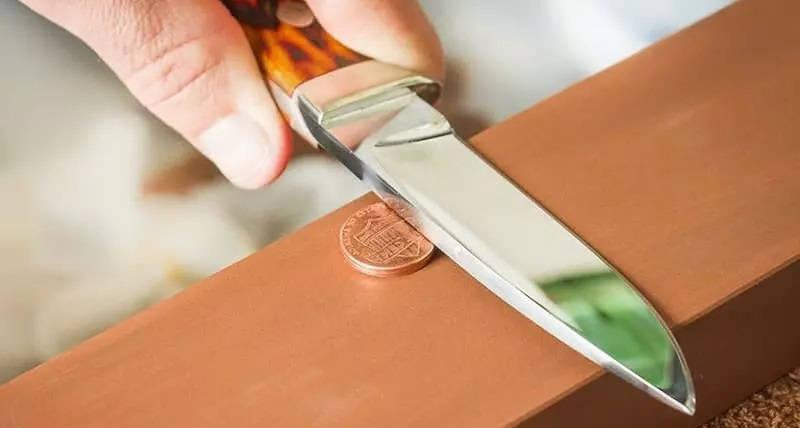 Как заточить убитый нож?