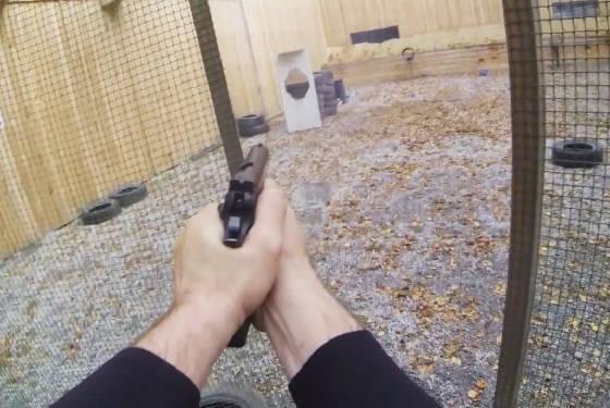 Урок в тире с инструктором по стрельбе